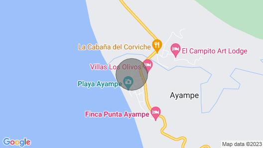 Vistamar Guest House Map