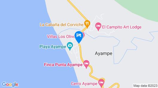 Finca Punta Ayampe Map