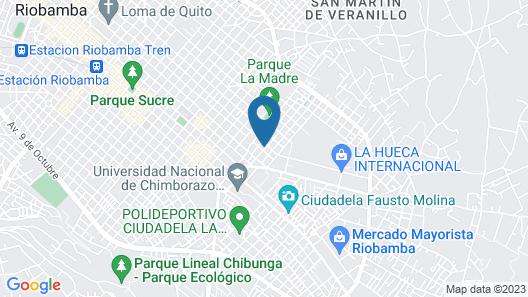 Mirador de Bellavista Riobamba Map