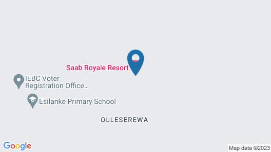 Saab Royale Resort Map