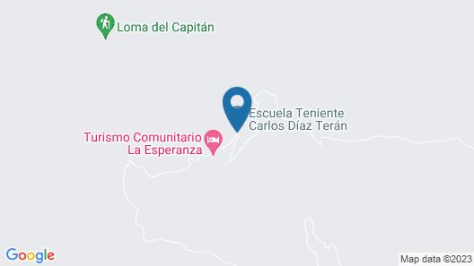 Turismo Comunitario La Esperanza Map