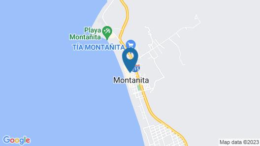 Hostal Tiki Limbo Map