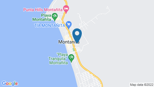 The Heights in Montanita Map