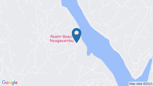 NYAGASAMBU REALM BEACH HOTEL Map