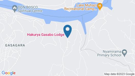 Hakurya Gasabo Lodge Map
