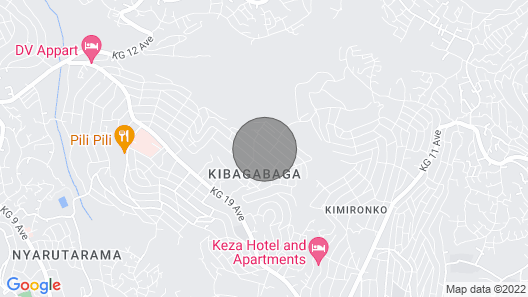 Spacious 2 Bedroom Apartment In Kigali Map