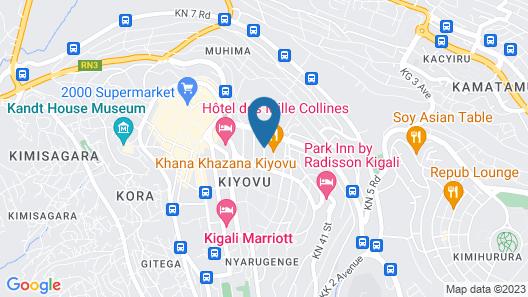 Heaven Restaurant & Boutique Hotel Map