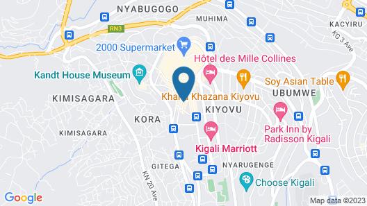 La Posh Hotel Map