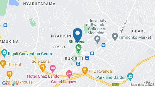 Igitego Hotel Map