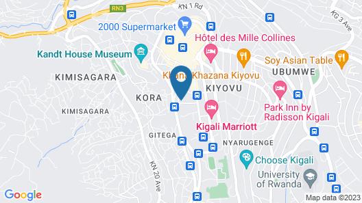 Mattina Motel Map