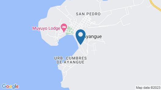 Casa Ayangue Map