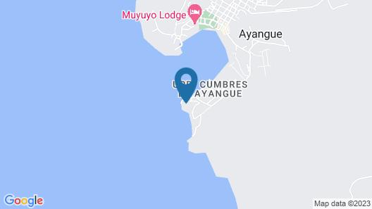 Cumbres de Ayangue Map