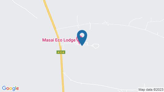 Masai Eco Lodge Map