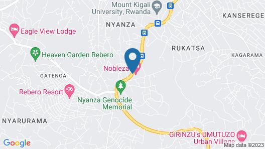 Nobleza Hotel Map