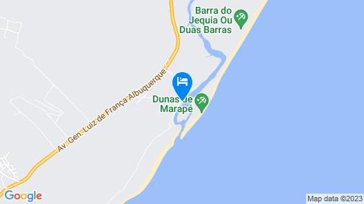 Pousada Portal dos Coqueirais Map