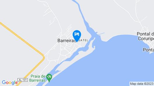 Pousada Batel Map