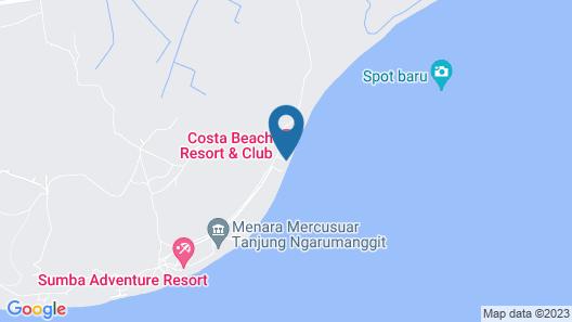 Costa Beach Resort & Club Map