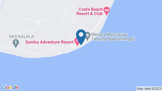 Sumba Adventure Resort - Hostel Map