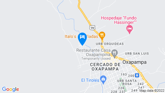 D'Campos Lodge Map