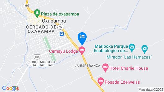 Altares de Oxapampa Map