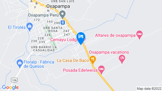 Posada Edelweiss Map