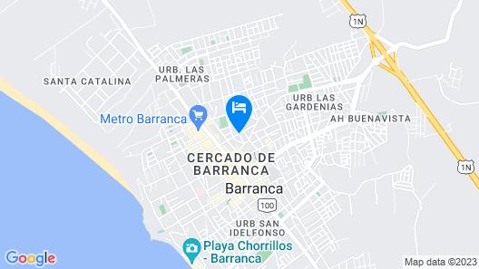 Hostal Roggerio Map