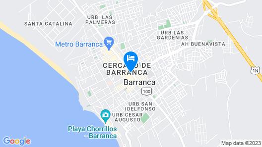 Hotel Chavin Map
