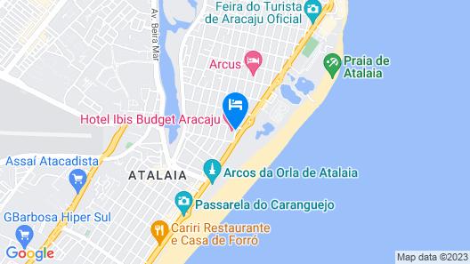ibis budget Aracaju Map