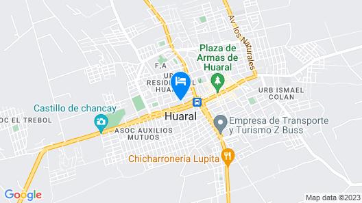Hostal Calle 5 Map