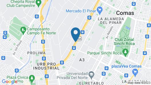 Hacienda Lima Norte Map