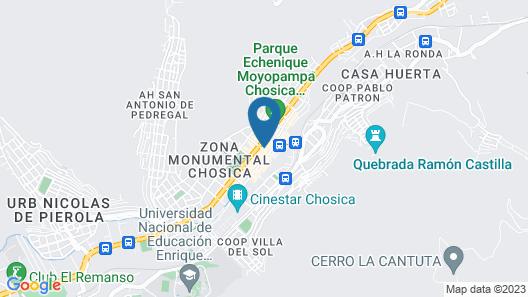 Hostal Primavera Map