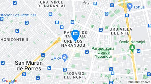 LYNIK La Casa de Blanca Map