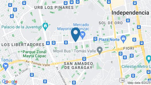 Apartamento Marco Airport Map