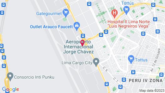 Wyndham Costa Del Sol Lima Airport Map