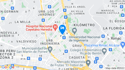 Hospedaje El Remanso Map