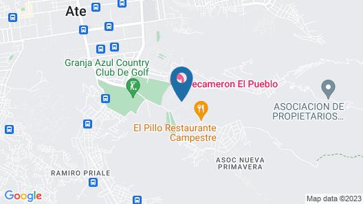 Decameron El Pueblo Resort&Conference Center - All Inclusive Map