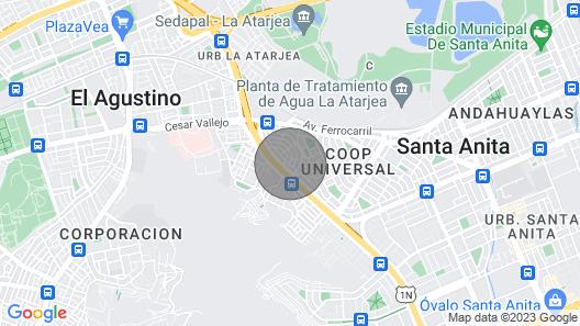 Casa playa Ancon  Vacaciones Map