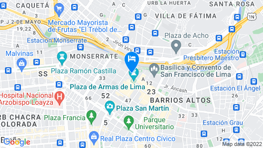 Best in Lima Map