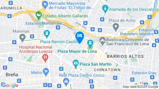 Hostal Bonbini Map