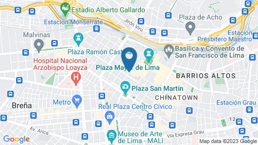 Hotel Kamana Map