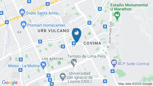 Hotel La Molina Map
