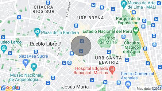 Concepto Life Lima Peru Map