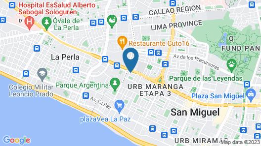 Palmetto San Miguel Map