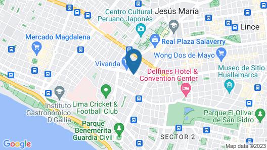Dazzler by Wyndham Lima San Isidro Map