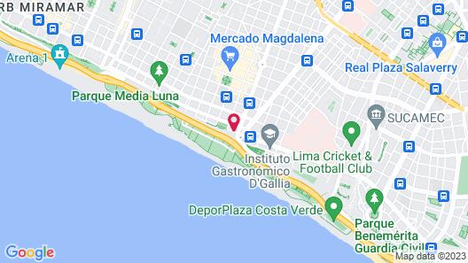 Inkari Apart Hotel Map