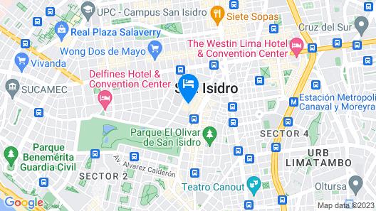 Swissôtel Lima Map