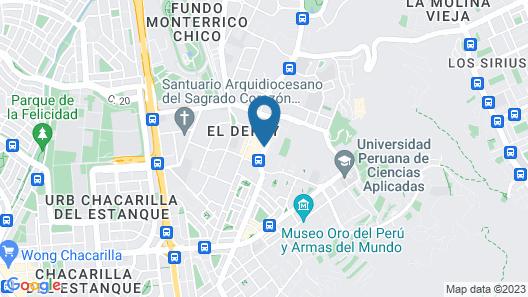 El Polo Apart Hotel & Suites Map