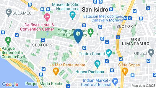Royal Park Hotel Lima Map