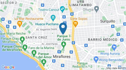 Habitat Hotel Map