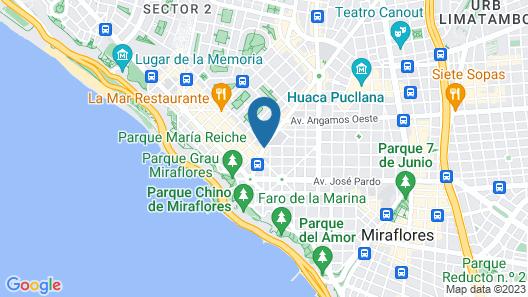 Hotel Santa Cruz Map